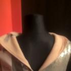 Imprezowa sukienka srebrna