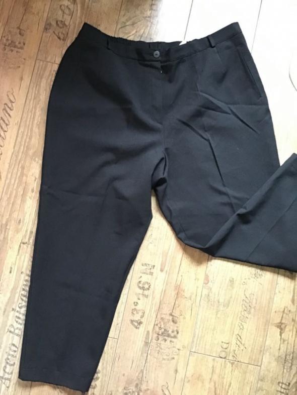 Spodnie Eleganckie eleganckie w kant 52 54 na gumce
