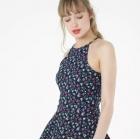 Nowa Sukienka 42 XL Terranova Kwiaty