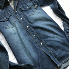 Włoska koszula jeans