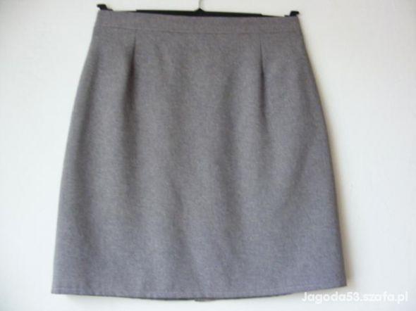 Spódnice Krótka stalowa spódniczka R 40 42