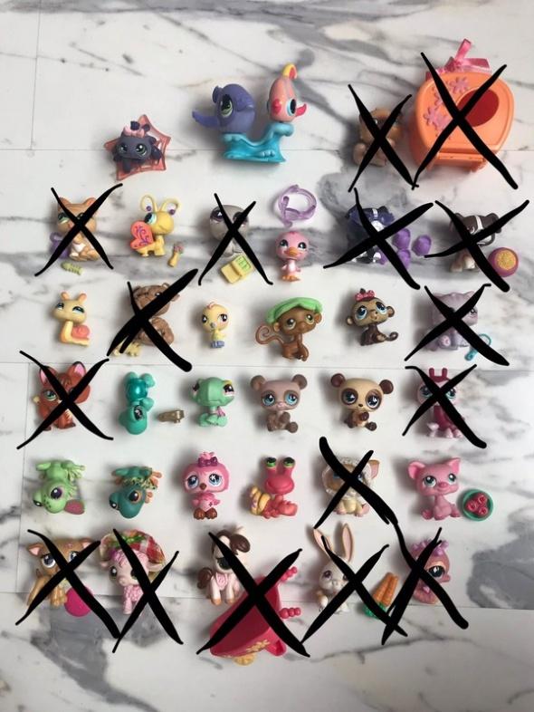 oryginalne figurki Littlest Pet Shop...