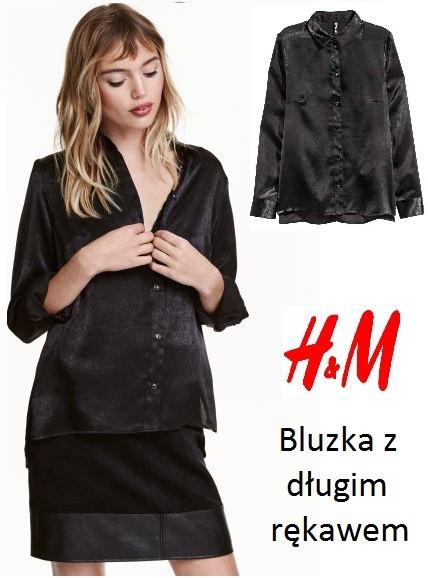 Koszule Czarna koszula HiM 34 36