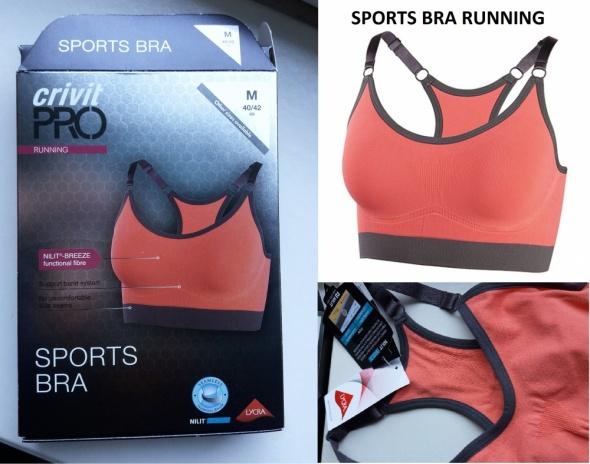 Sports bra running by Crivit pro S M
