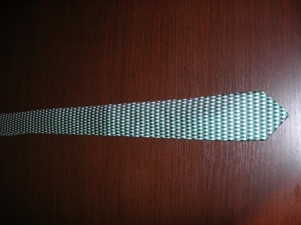 krawat Vistuli wąski jedwabny