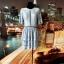 missguided sukienka błękitna koronkowa jak nowa hit 40
