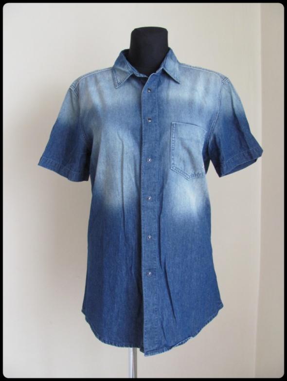 Koszule Koszula jeansowa damska lekka Benetton 40 42