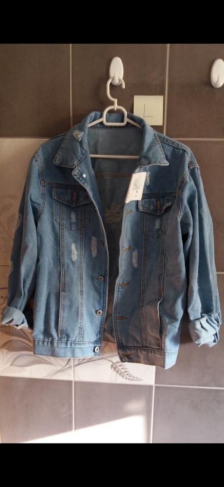 Katana jeansowa kurtka L...