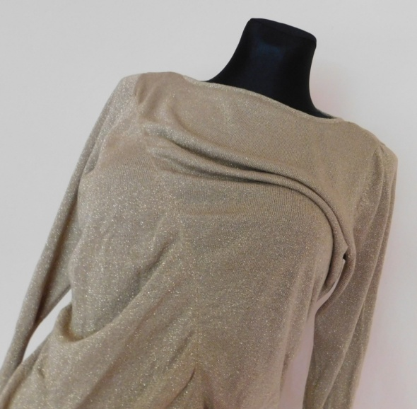 Papaya bluzka sweterek złoty 40 42...
