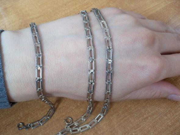 łańcuszek i bransoleta srebro