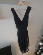 Luźna czarna sukienka