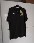 Puma BVB koszulka polo Borussia Dortmund casuals...