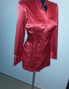NOWA zmysłowa czerwona tunika bluzka...