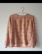 Różowa bluza bunny