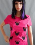 Różowa Bluzka z Minnie...