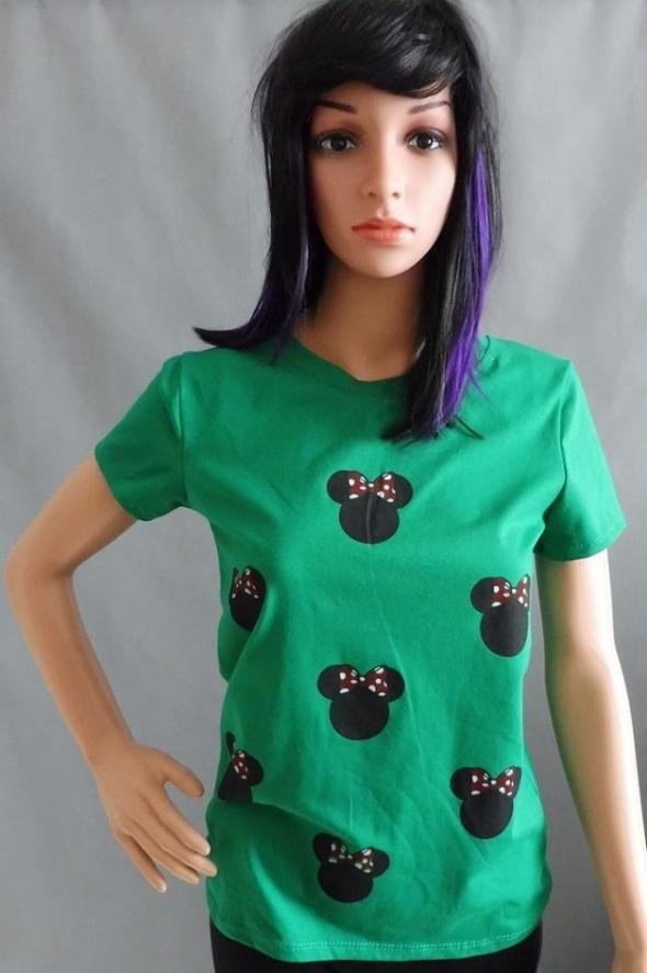 Zielona Bluzeczka z Minnie...