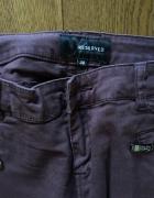 Ciemnobrązowe spodnie RESERVED rozm 38