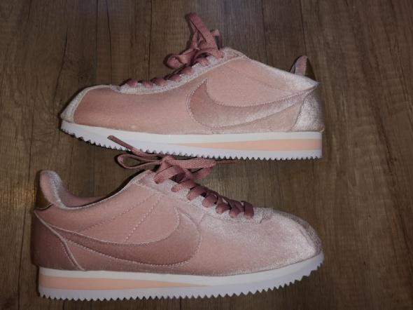 Sportowe Nike cortez velvet pink