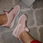 Nike cortez velvet pink