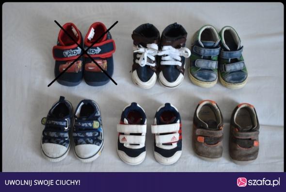 buty sportowe NIKE dla chłopca 33 oryginalne w Obuwie Szafa.pl