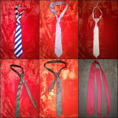 Krawat do wyboru 6 wzorów
