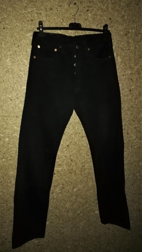 Levis 501 Czarne jeansy W31 L 34...