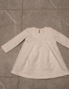 Piękna biała sukienka w serduszka Pepco 80...