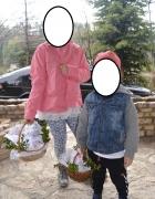 Zara jeansowa katana bluza szare 5 lat 110cm Idealny stan jNowa...
