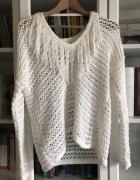 azurowy sweter...