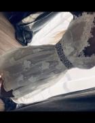 letnia biala sukienka...