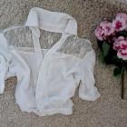 BERSHKA biała koszula xs s
