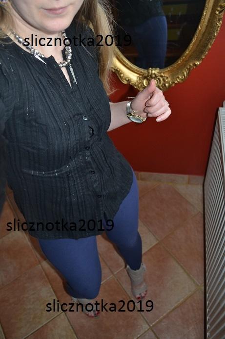 Lindex Koszula czarna s m l