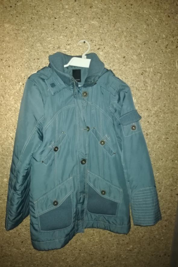 Niebieska kurtka jesienno wiosenna 40 42...