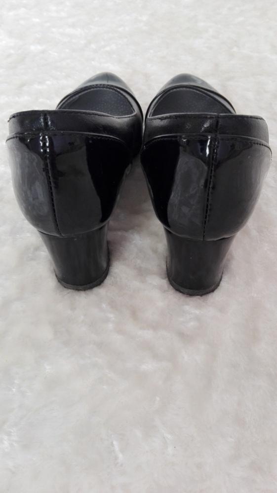Czółenka pantofle na słupku