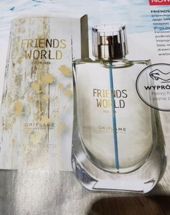 Nowa woda toaletowa Friends World z Oriflame...