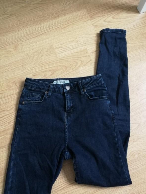 Spodnie jeansowe tregginsy jamie Topshop high waist