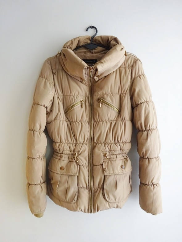 Reserved zimowa i jesienna kurtka puchowa 36 S...