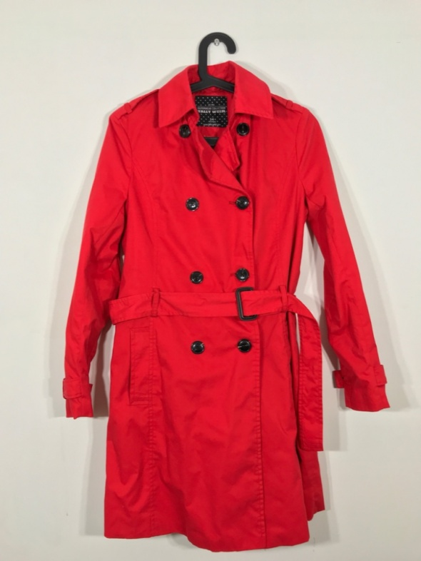Czerwony płaszcz TALLY WEIJL 34...