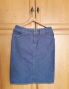 Świetna jeansowa spódnica M...