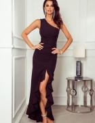 Czarna sukienka wieczorowa...