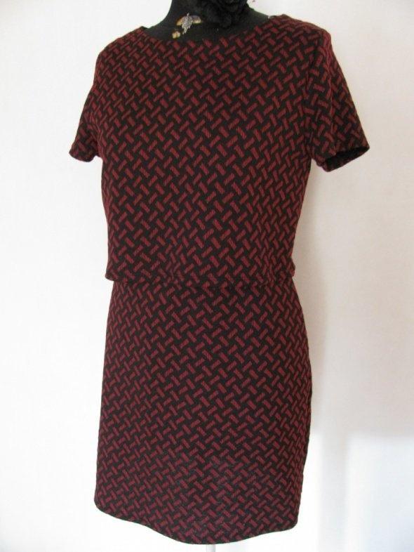 Suknie i sukienki ATMOSPHERE NOWA DWUCZĘŚCIOWA SUKIENKA BORDO 38