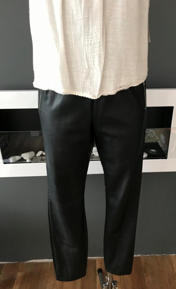 Spodnie Skóra Sinsay Nowe M Czarne...