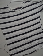 Bluzka oversize paski...