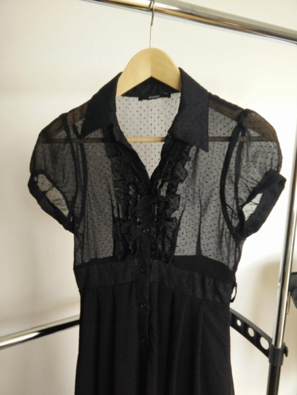 Czarna zwiewna sukienka George 36...