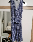 Mohito sukienka marynarska
