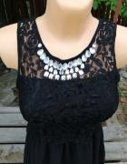 Sukienka z diamentami...
