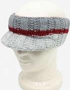 Zimowy daszek opaska czapka...