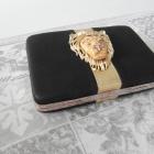 Unikat kopertówka Mango z głową lwa