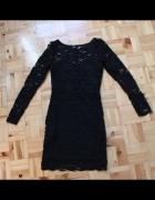 Sukienka koronkowa czarna H&M...