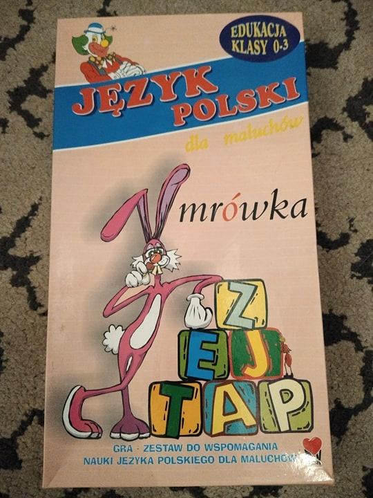 Gra planszowa edukacyjna język polski...